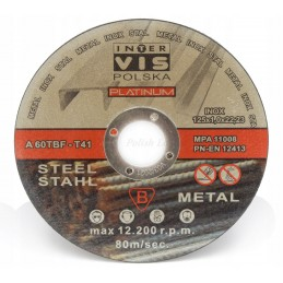 Disc for cutting metal...