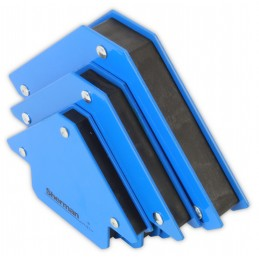 Set of welding angles holders